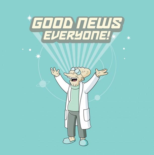Good Morning Everyone Que Significa : Futurama saison nd partie mouef