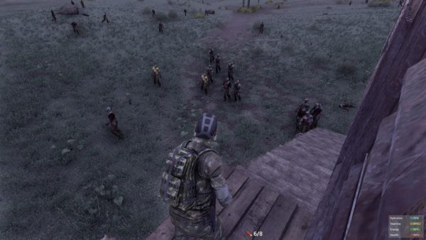 H1Z1 zombies