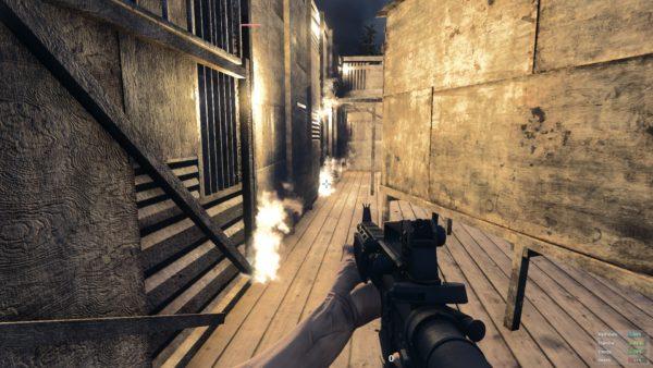 H1Z1 base en feu