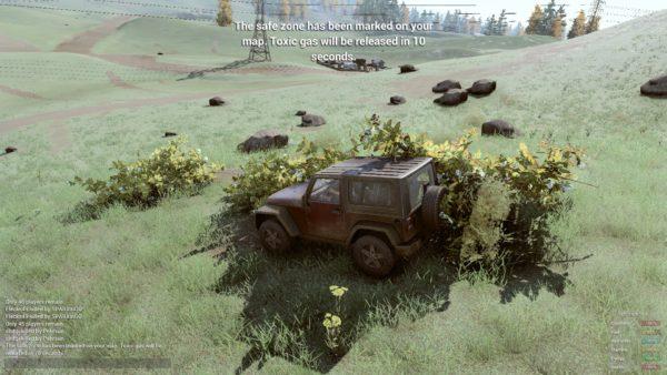 H1Z1 voiture jeep