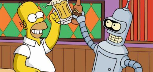 Simpsons Futurama Crossover