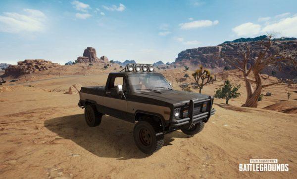 nouveau véhicule PUBG pickup
